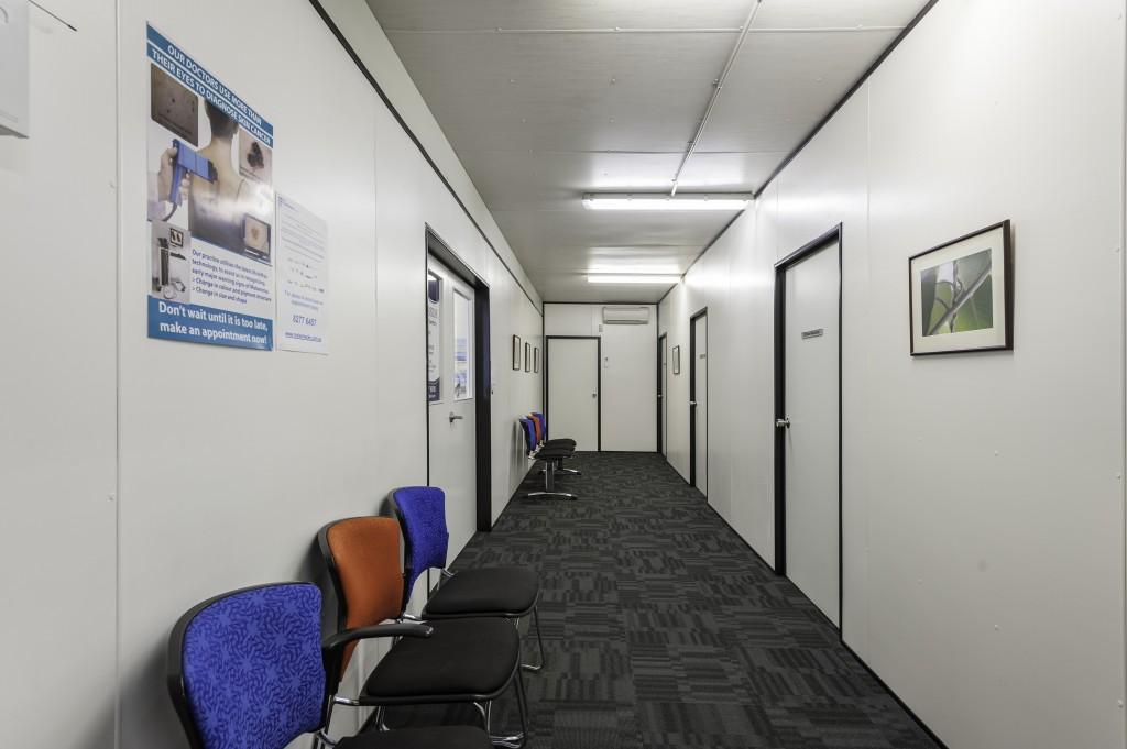 Ausco Modular Temporary Emergency Space