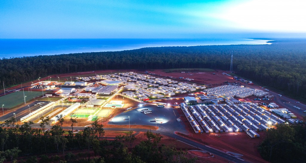 Amrun Village, 40 kilometres south of Weipa on the Cape York Peninsula in Far North Queensland.