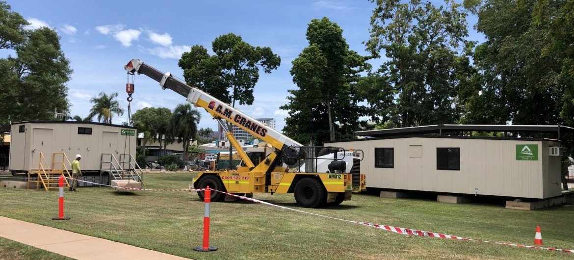 Daly Street Beautification Project - City of Darwin