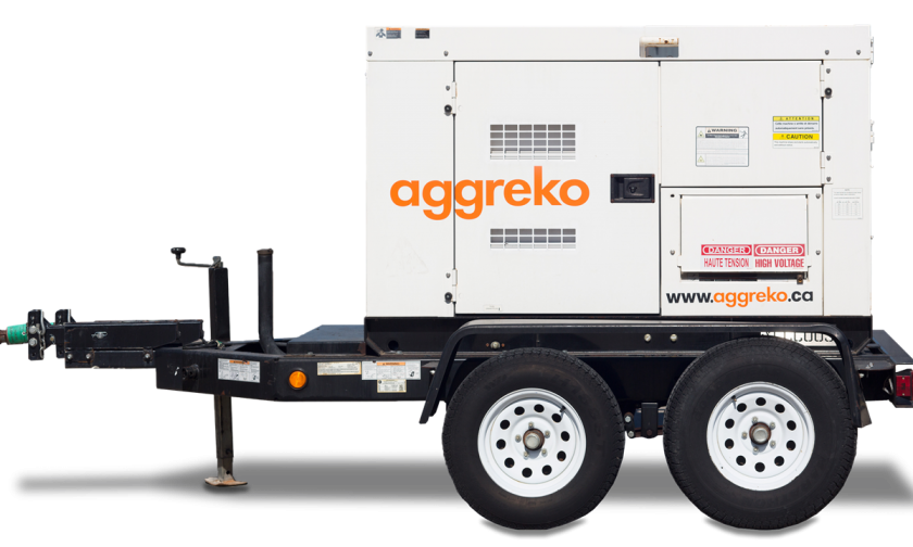Trailer-mounted Generator