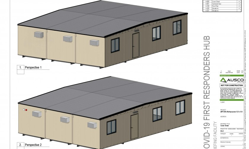 COVID-19 Temporary transportable buildings Briefing Facility
