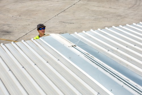SealSafe modular roofing system