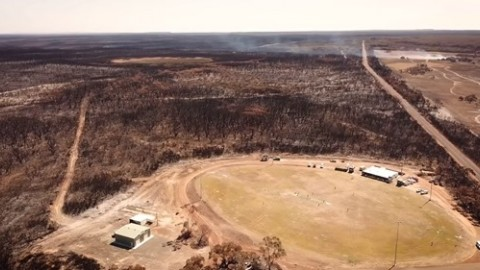 Kangaroo Island Football Club bushfire devastation