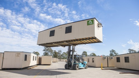Ausco Modular - Hiring a temporary building